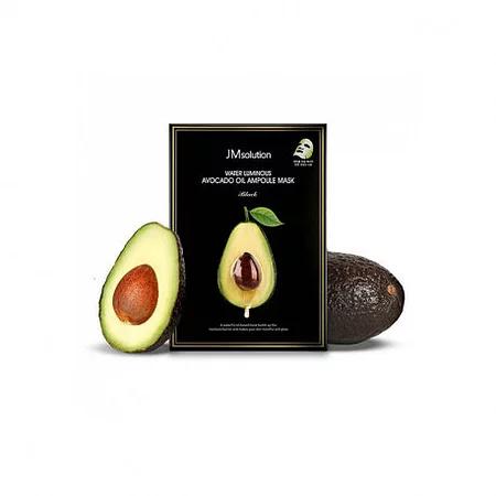 JMsolution Water Luminous Avocado Oil Ampoule Mask Питательная маска с авокадо