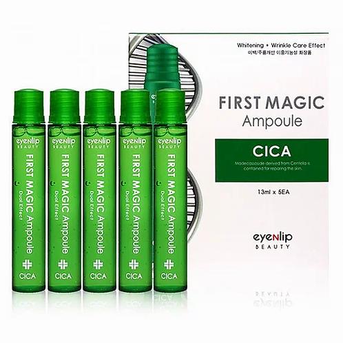 Eyenlip First Magic Ampoule Cica Ампулы для лица с экстрактом центеллы