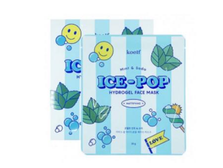 Koelf Mint & Soda Ice-Pop Hydrogel Face Mask Гидрогелевая маска для лица