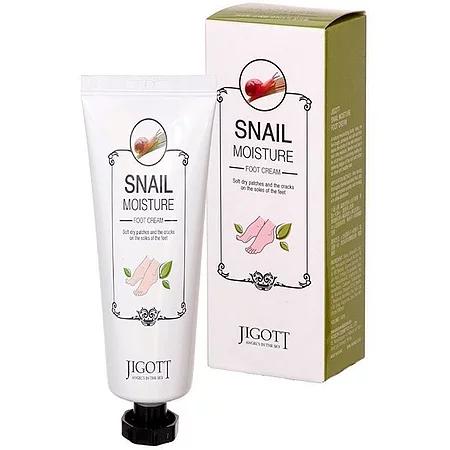 Jigott Snail Moisture Foot Cream Крем для ног