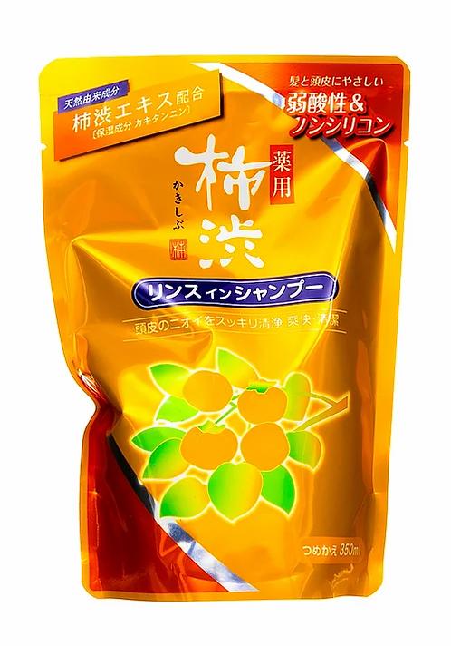 Япония Запаска шампунь-кондиционер против перхоти с хурмой