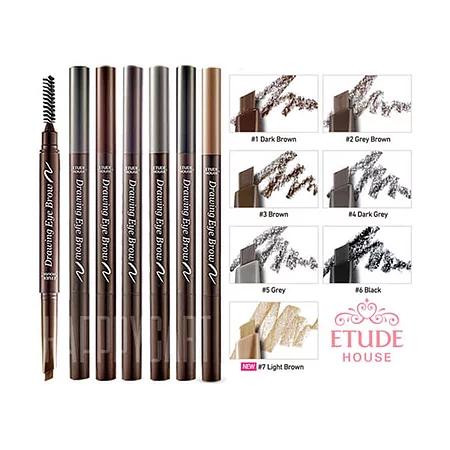 Etude House 01 Drawing Eye Brow Dark Brown Карандаш для бровей