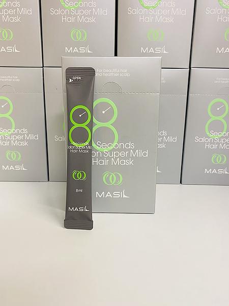 Masil Salon Super Mild Hair Mask Восстанавливающая маска для ослабленных волос