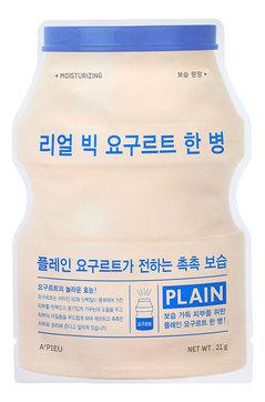 A'PIEU Тканевая маска для лица Real Big Yogurt One Bottle Plein