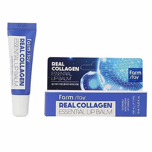 Farmstay Бальзам для губ Real Collagen Essential Lip Balm