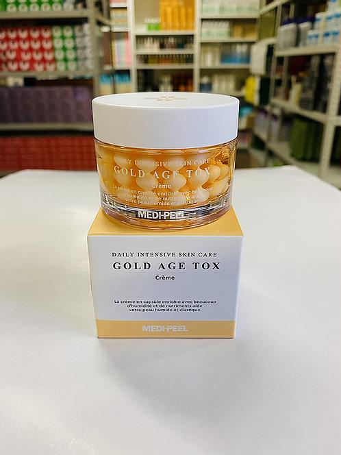 Medi-Peel Gold Age Tox Cream Капсульный крем с экстрактом золотого шелкопряда