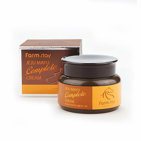 Farm Stay Питательный крем для лица Jeju Mayu Complete Cream