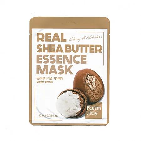 FarmStay Real Shea Butter Essence Mask Тканевая маска