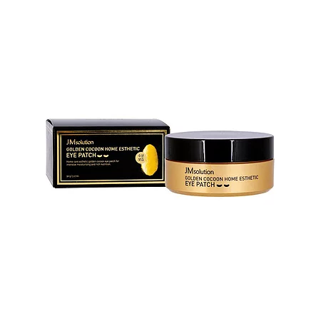 JMsolution Golden Cocoon Home Esthetic Eye Patch Гидрогелевые патчи с шёлком