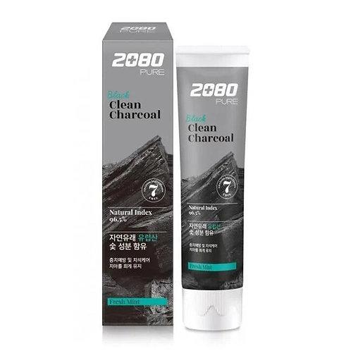 Зубная паста Dental Clinic 2080 Уголь и Мята