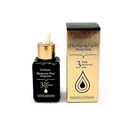 Deoproce Hyaluron Vital Ampoule Сыворотка для лица
