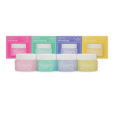 BANILA CO Clean it Zero Special Kit Набор миниатюр очищающих бальзамов
