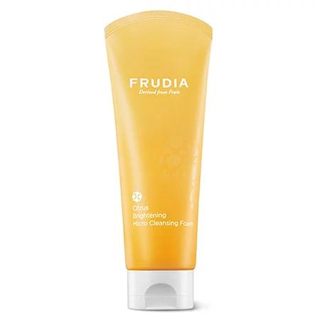 Frudia Citrus Brightening Micro Cleansing Foam Пенка с цитрусом для сияния кожи