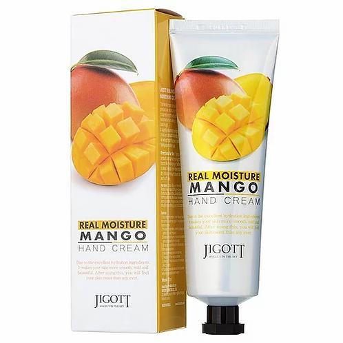 Jigott Real Moisture Mango Hand Cream Крем для рук