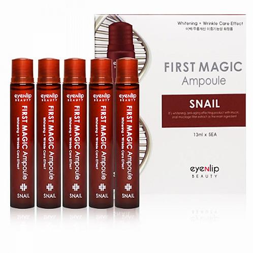 Eyenlip First Magic Ampoule Snail Ампулы для лица с улиточным экстрактом