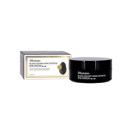 JMsolution Black Cocoon Home Esthetic Eye Patch Патчи с протеинами шёлка и углём