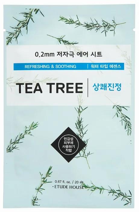 Etude House Тканевая маска с экстрактом чайного дерева