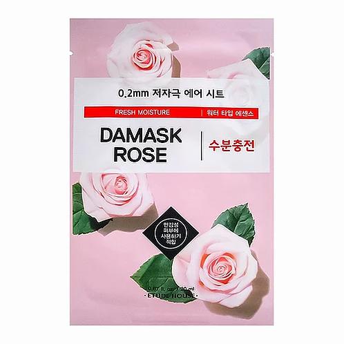 Etude House Тканевая маска с экстрактом дамасской розы