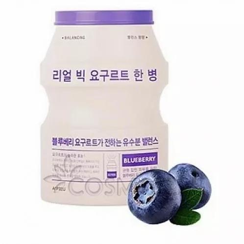 A'Pieu Маска разглаживающая с экстрактом йогурта BLUEBERRY