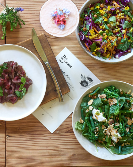 healthy lunch menu in Cape Town - food styler and food photographer  Naima Maleika