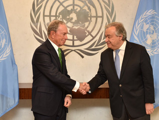 Some Good News from US: Bloomberg is UN Special Envoy for Climate Action