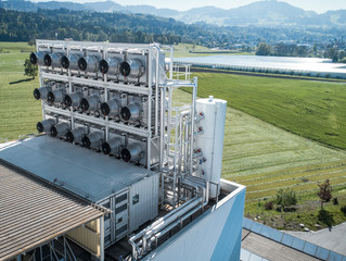 Awesome Extractors - Climeworks, a Swiss company, filters carbon dioxide out of the air to contribut