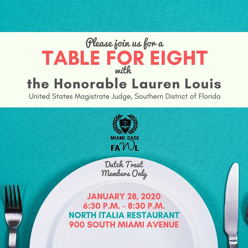 Table for Eight with the Honorable Lauren Louis