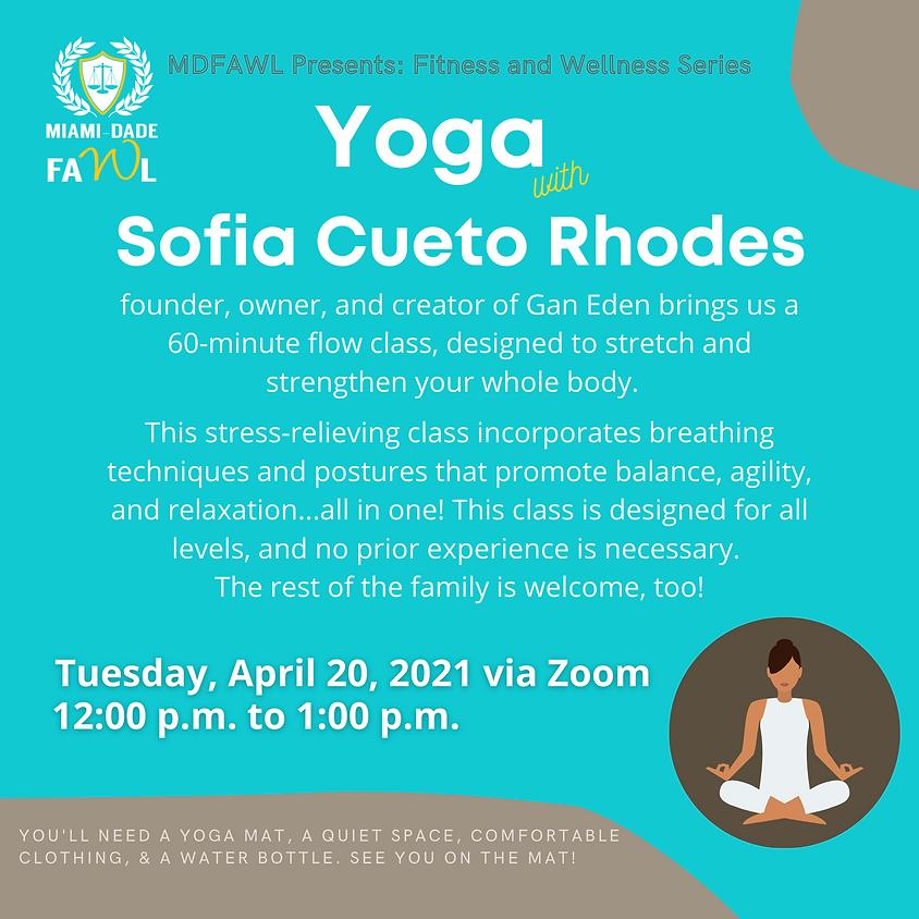 Fitness and Wellness Series:  Yoga