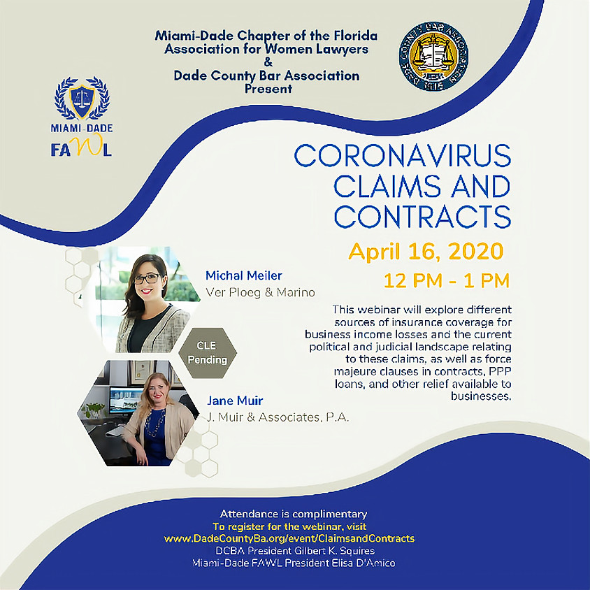 Coronavirus Claims and Contracts