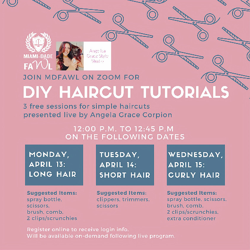 DIY Haircut Tutorial on April 15, 2020