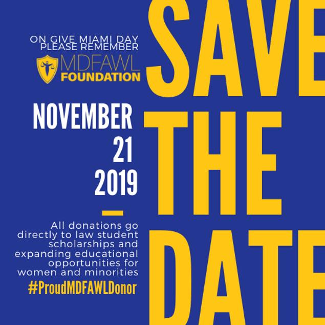 Give Miami Day - MDFAWL Foundation