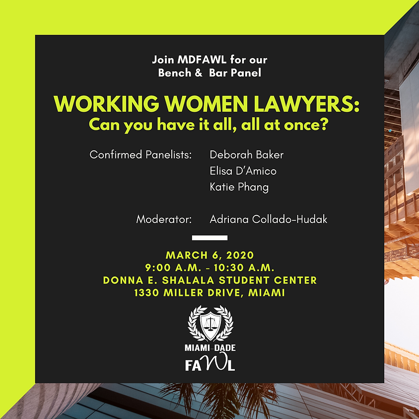 Working Women Lawyers: Can you have it all, all at once?