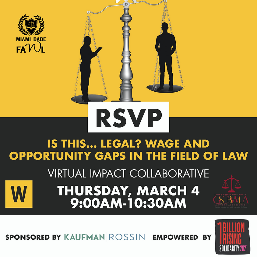 Virtual Impact Collaborative: Wage and Employment Gaps in the Field of Law