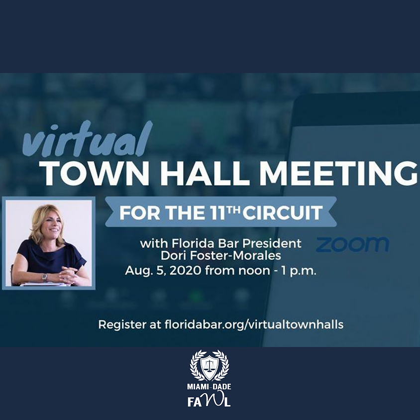 Virtual Town Hall for the Eleventh Judicial Circuit