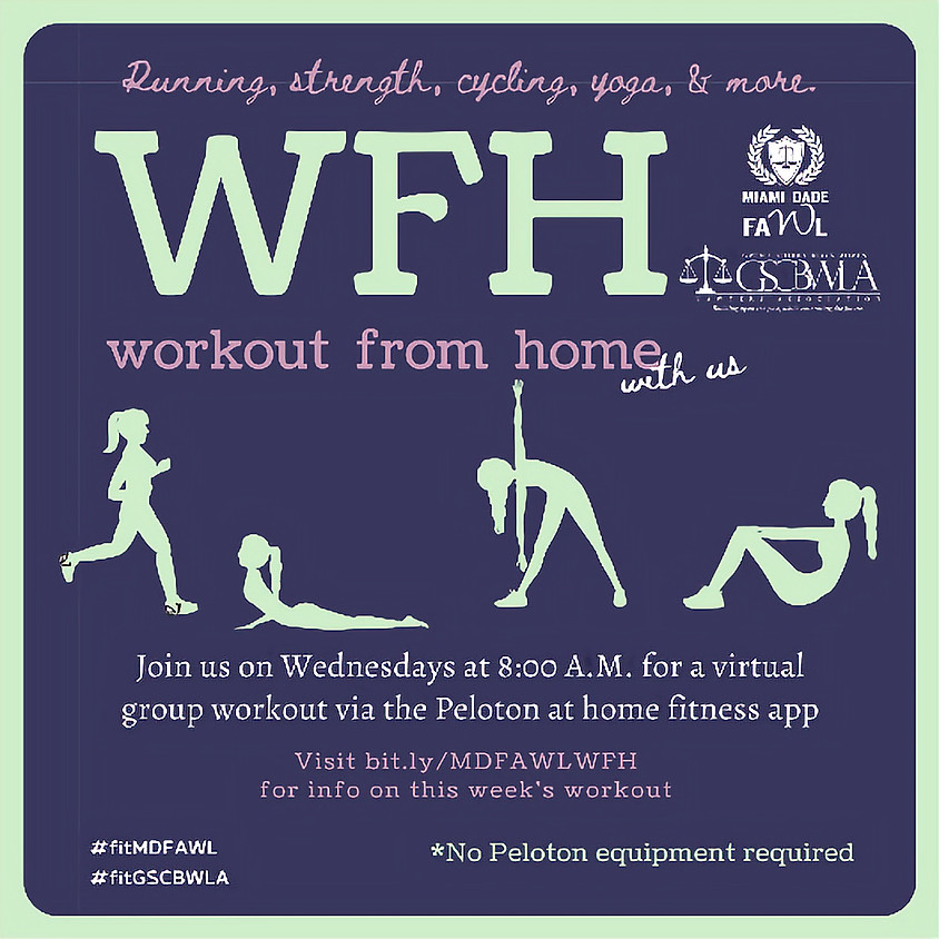 MDFAWL & GSCBWLA Workout From Home
