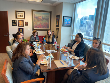 Insights Gained at the Lunch & Tell with Judge Samantha Ruiz Cohen