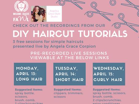 On-Demand DIY Haircut Tutorials