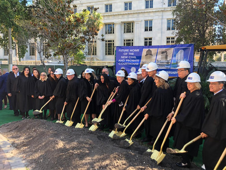 New Civil and Probate Courthouse Groundbreaking Ceremony
