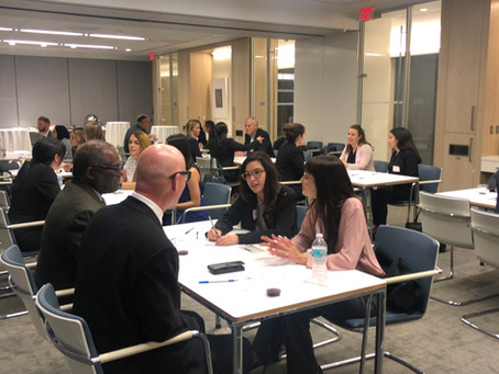 MDFAWL'S Speed Mentoring a Tremendous Success!