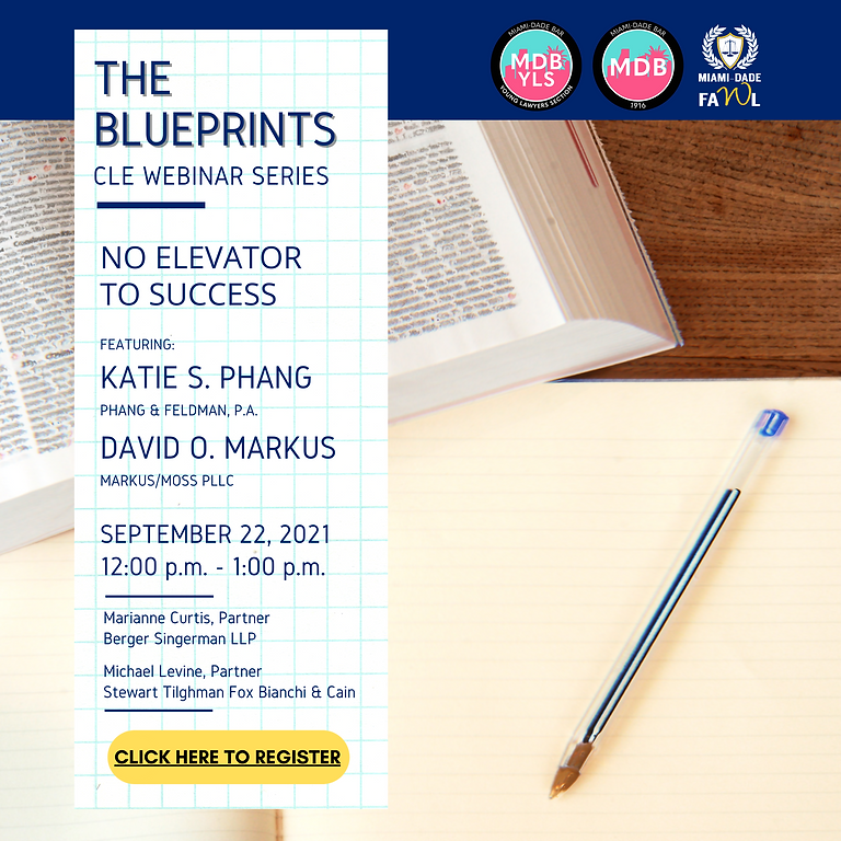 The Blueprints Series: No Elevator to Success