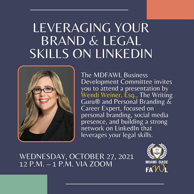 Leveraging Your Personal Brand & Legal Skills on LinkedIn