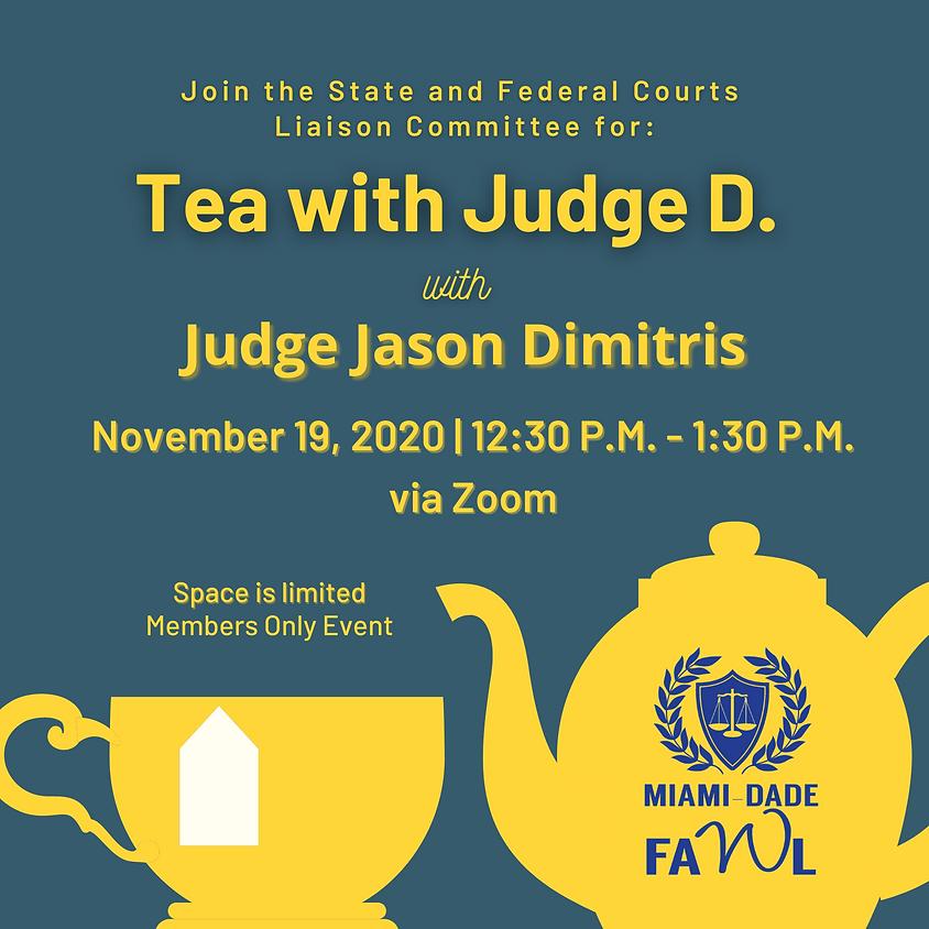 Tea with Judge D