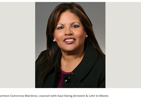 MDFAWL Director, Carmen Contreras-Martinez, Featured in the Daily Business Review
