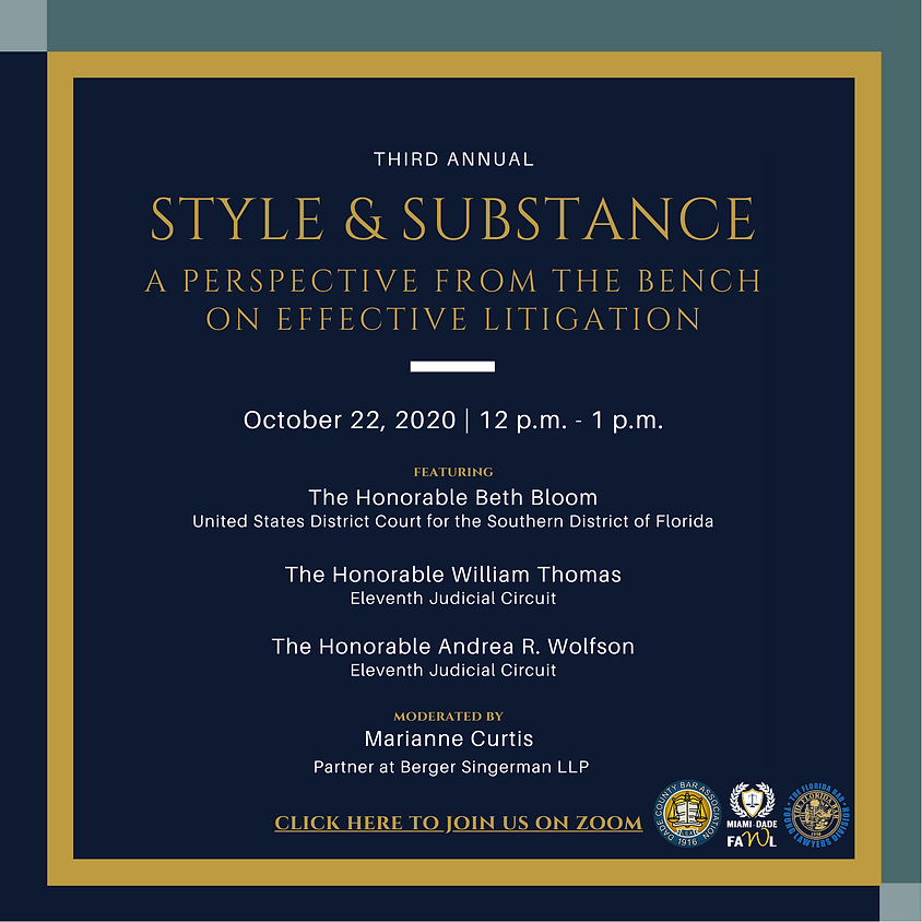 Third Annual Style & Substance