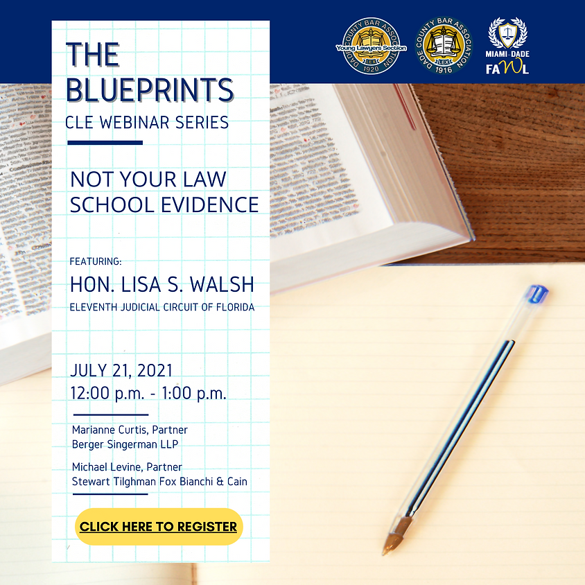 The Blueprints Episode 3: Not Your Law School Evidence
