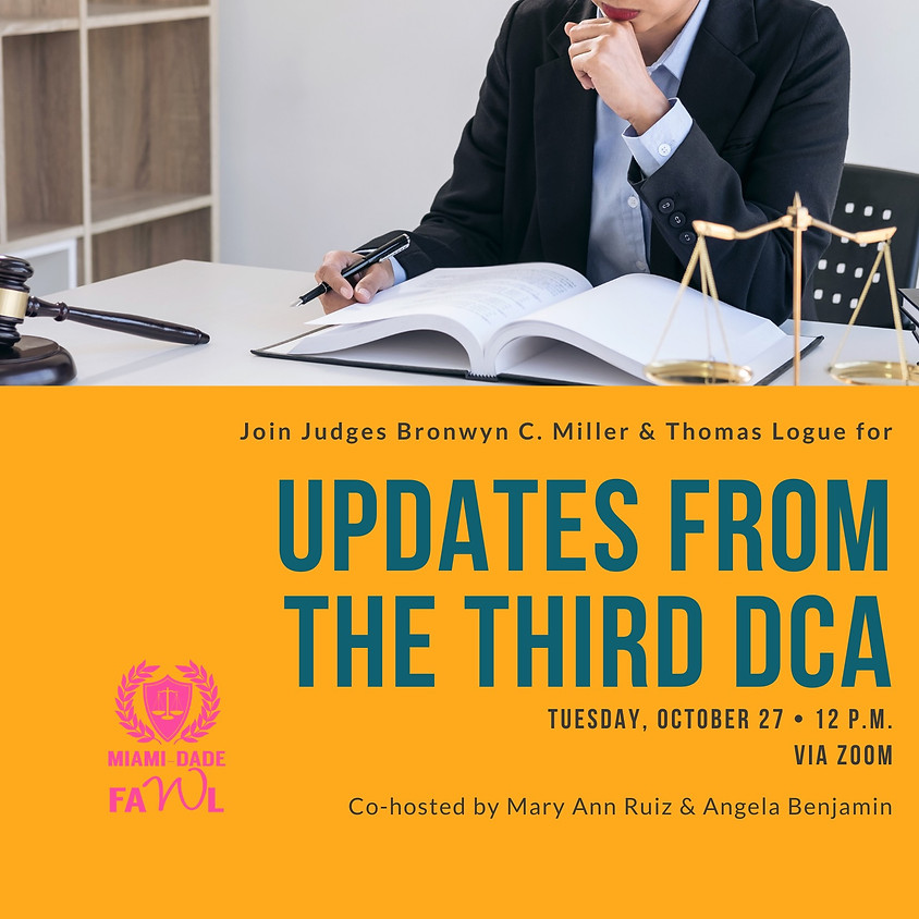 Updates from the Third DCA