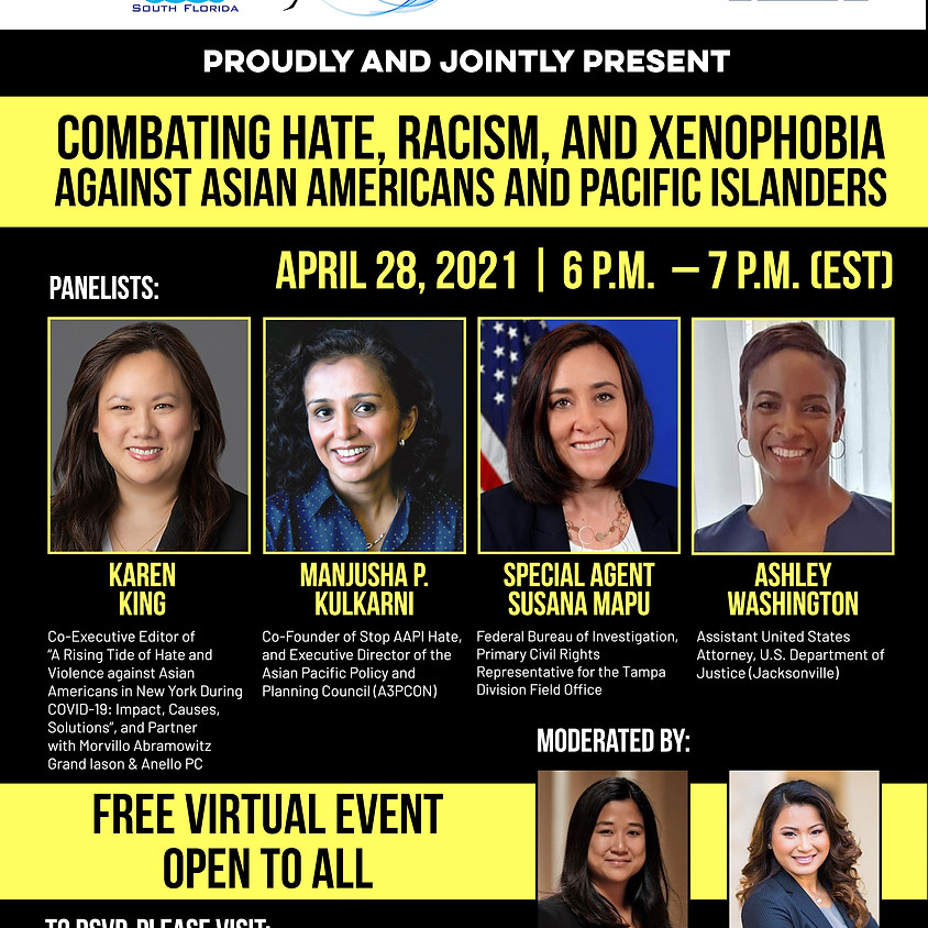 Coalition Panel: Combating Hate, Racism and Xenophobia