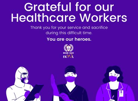 MDFAWL Donates 4,000 Masks to Local Hospitals
