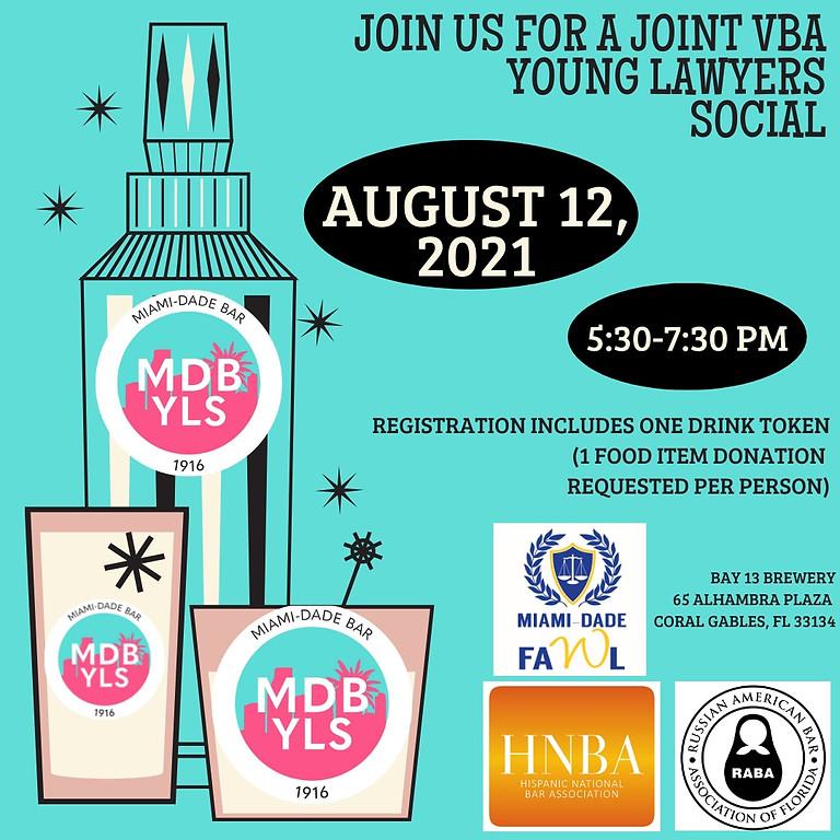 Voluntary Bar Association (VBA) Young Lawyers Social