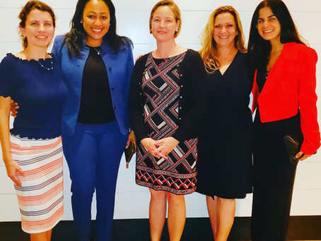 MDFAWL Hosts Intimate Dinner with The Honorable Lauren Louis